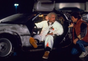 A 'Back To The Future' Megafan Took His DeLorean To 88 MPH And Got A Ticket For His Trouble