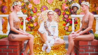 Bleachers' Candy-Coated Wedding Goes All To Hell In The Lena Dunham-Directed 'Don't Take The Money' Video