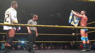 Bobby Roode And Tye Dillinger Brought The NHL Playoffs To NXT With A Hockey Fight