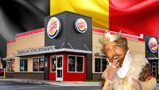 Burger King's First Restaurant In Belgium Kicks Off Its Existence By Angering A Real King