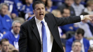 John Calipari Celebrated A Huge Recruiting Win By Awkwardly Riding A Hoverboard