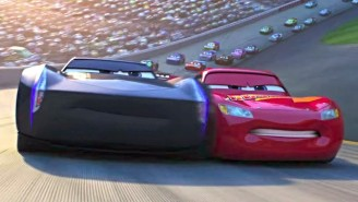 An Aging Lightning McQueen Races Against Time And Technology In Pixar's Latest 'Cars 3' Trailer