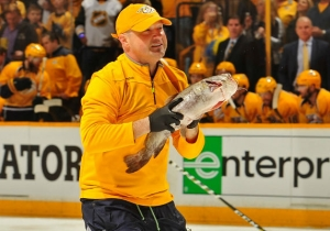 The Predators Fan Who Tossed A Catfish Onto The Ice In Pittsburgh Got Arrested