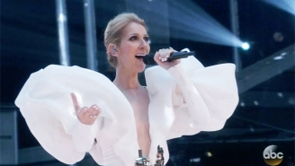 Celine Dion's Magnificent Performance Of 'My Heart Will Go On' Brought Down The House