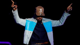 Chance The Rapper Brings The Love At Boston Calling Day One