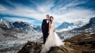 This Everest Base Camp Wedding Ups The Bar For Adventurous Couples