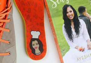 Stephen Curry Made A Special Edition Of His 3ZER0 Shoe Modeled On Ayesha Curry's Cookbook