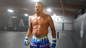 This Picture Of A Ripped Chuck Liddell Has Everyone Talking About A Comeback