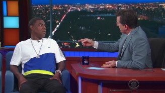 Stephen Colbert Told Tracy Morgan They Auditioned For 'SNL' Together Much To Tracy's Surprise