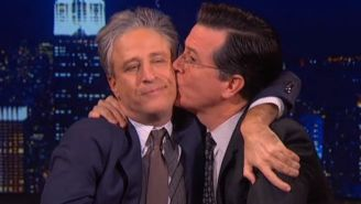 Here's Our First Look At The All-Star 'Daily Show' Reunion On 'The Late Show'