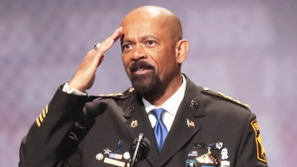 Controversial Sheriff David Clarke Told His Staff To Harass A Fellow Plane Passenger Upon Landing
