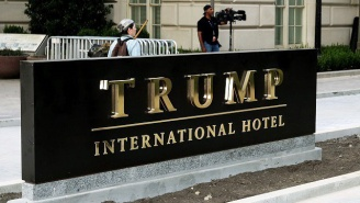 A Man Was Arrested At A D.C. Trump Hotel After Police Found An Assault Rifle And Ammo In His Car