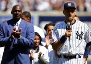 Michael Jordan Wrote Derek Jeter A Letter Congratulating Him On His Jersey Retirement
