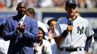 Michael Jordan Wrote Derek Jeter A Letter Congratulating Him On His Jersey Retirement