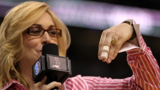 Only Doris Burke Could Get The Best Of Gregg Popovich During An In-Game Interview