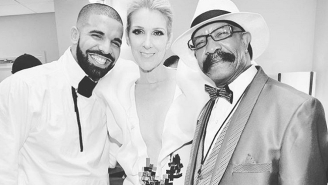 Drake Went Into Fanboy Mode And Told Celine Dion He Wants To Get A Tattoo Of Her At The BBMAs