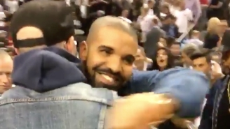 Drake Honored Toronto Rock Legend Gord Downie With A Bow At The Cavs-Raptors Game