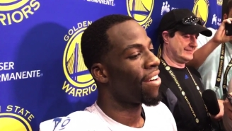 Draymond Green And The Warriors Had Nothing To Say About Zaza's 'Dirty' Foul On Kawhi Leonard