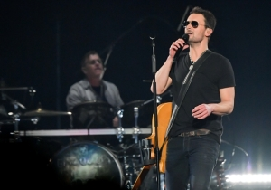Eric Church Got Emotional While DedicatIng A New Song 'Why Not Me' To A Las Vegas Shooting Victim