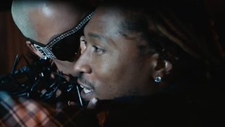 Future Makes Out With Amber Rose In His 'Mask Off' Video