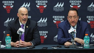 Bulls Fans Are So Fed Up With The Front Office That They Put Up A 'Fire GarPax' Billboard