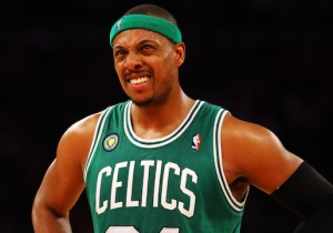Paul Pierce Could Not Be Happier That He Played A Role In The Celtics Winning The Lottery