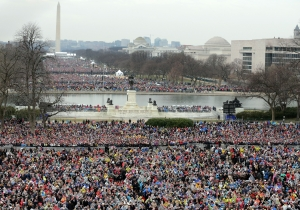 Report: Trump Was 'Directly Involved' In Looking For The Person Who Tweeted His 'Crowd Size' Photos