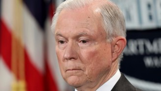 The Justice Department Says Attorney General Jeff Sessions Did Not Disclose His Meetings With Russian Officals