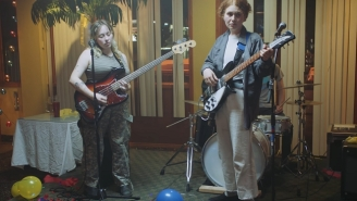 Girlpool Dive Into How Odd It Is To Fake A Performance In The 'Powerplant' Video