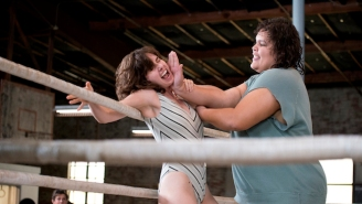 The Official Trailer For Netflix's 'GLOW' Promises Tights, Wrestling, And Big '80s Hair