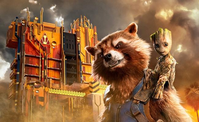 Sneak A Peek Inside Disney's New 'Guardians Of The Galaxy' Ride