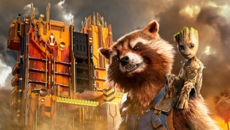 Sneak A Peek Inside Disney's New 'Guardians Of The Galaxy' Ride