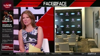 Hannah Storm Was Left Stunned When An ESPN Reporter Disappeared From Camera On Air