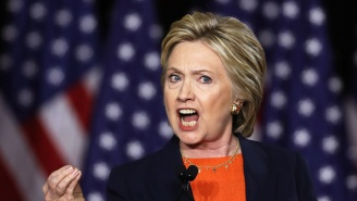 Hillary Clinton Kicks Trump Right In The 'Covfefe' After He Fired A Shot At Her Election Loss (Again)