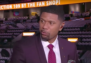 Jalen Rose Believes The Difference Between The NBA And NFL Is Illustrated In Their Logos