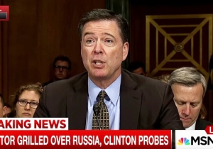 James Comey Brought Up 'This Fella Anthony Weiner' During His Senate Hearing And Everyone Loved It