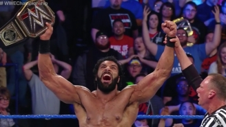 Listen To The Indian Announcer's Team Call Jinder Mahal's Championship Win