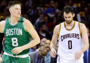 Jonas Jerebko Called Out Kevin Love For Flopping In Game 3