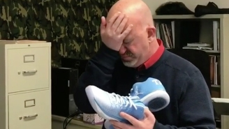 This Teacher Teared Up After His Students Got Him A Pair Of Air Jordan XXXI Low UNCs