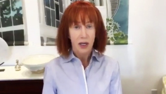 Kathy Griffin Apologizes For Her Bloody Donald Trump Image And Says 'I Went Way Too Far'