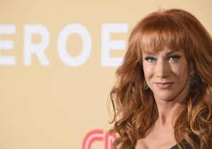 CNN Fires Kathy Griffin From Its Annual New Year's Eve Show Over Her Controversial Trump Photoshoot