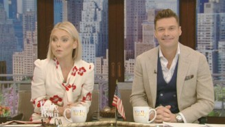 Kelly Ripa Finally Reveals Her New 'Live' Co-Host, And Her Pick Isn't All That Surprising