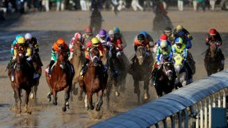 One Horse Was Not Interested In Running On A Sloppy Kentucky Derby Track