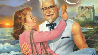 The Colonel Is Getting Hot And Oily With A Romance Novel About Chicken Love