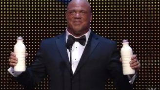 Kurt Angle's WWE Hall Of Fame Induction Speech Was Almost A Lot Wilder