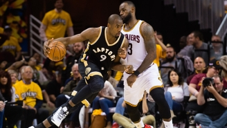 LeBron James Had A Perfectly Good Explanation For Spinning The Ball In Front Of Serge Ibaka