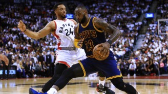 Norman Powell Felt LeBron James Tried To 'Son' Him In Game 3 With The Jersey Pull