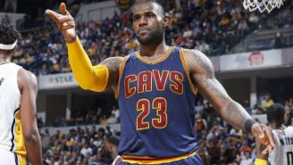 LeBron James Inched Closer To Another One Of Michael Jordan's Playoff Records