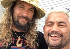 Jason Mamoa Performed An Intense Haka Dance For Mark Hunt Ahead Of His UFC Fight