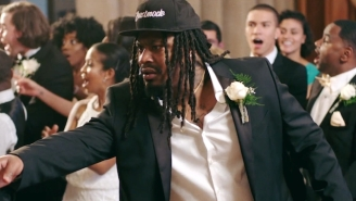 Marshawn Lynch Is The Star Of Train's 'Drink Up' Video And Should Be In Every Music Video Ever